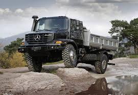 mercedes truck 4x4 grabcad
