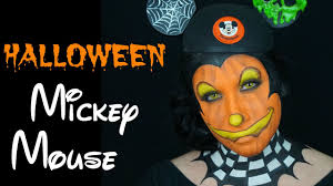 halloween mickey mouse makeup tutorial face painting youtube