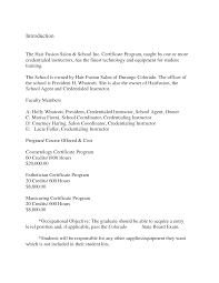 Sample Cosmetologist Resume by 19 Sample Cosmetologist Resume 10 How To Write Cosmetology