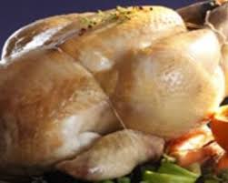 cuisine chapon roti recette chapon rôti et gratin de potiron