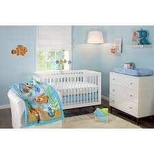 Nemo Bedding Set Disney Nemo Day At Sea 3 Crib Bedding Set Walmart