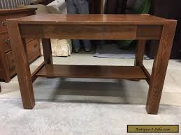 Library Tables For Sale Vintage Oak Library Table With Drawer For Sale In United States