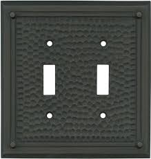 oil rubbed bronze light switch hammered with nails oil rubbed bronze switch plates outlet covers
