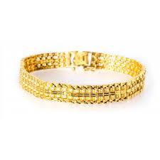 gold bracelet rolex images Rolex style men 39 s bracelet 22kt yellow gold jpg
