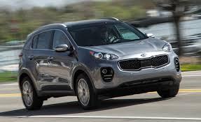 kia sportage 2017 kia sportage 2 4l awd instrumented test u2013 review u2013 car and driver