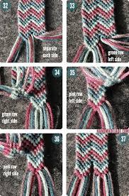 double friendship bracelet images Diy double chevron friendship bracelet just knotted jpg