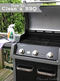 How To Do Spring Cleaning How To Clean A Bbq Clean And Scentsible
