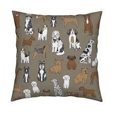 dogs print dog illustration cute dog dog breed pet dog fabric