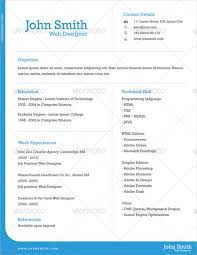 1 page resume template 9 one page resume templates free premium templates