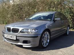 bmw e46 330d 204hp diesel m sport manual 6 speed grey full