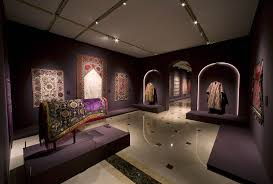 exhibition design a story of islamic embroidery inspiration