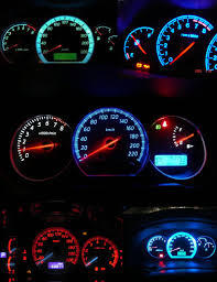 blue led dash lights tricolour 500pcs t5 1w ed bulbs with wedge base led dashboard panel