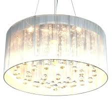 Drum Shade Pendant Light Fixture Drum Chandeliers S Shade Pendant Light With Crystals Boscocafe