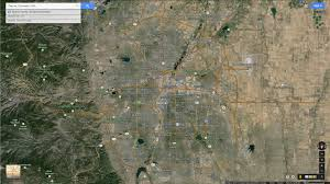 Maps Colorado Denver Colorado Map