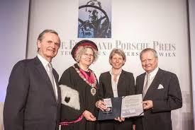 wolfgang porsche tu wien awards 20th u201cprofessor ferdinand porsche u201d prize news