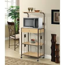 home source microwave cart w 2 outlets mop walmart com