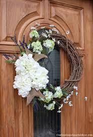 hydrangea wreath summer hydrangea wreath tutorial confessions of a serial do it