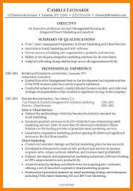 executive summary example resume example resumer manufacturing