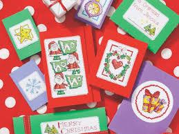 jolly cards free chart cross stitching