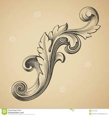 vector floral design element royalty free stock photos image