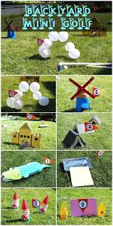 backyards ergonomic diy backyard mini golf 127 sets winsome