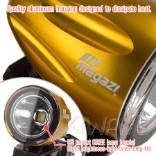 lights explorer anodized gold auxiliary led light