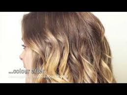 baby ombre via diy ballyage highlights youtube skin hair