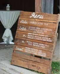 idã e menu mariage comment présenter menu de mariage