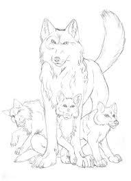 elemental wolves sketch by shines bright eyes on deviantart