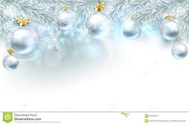 christmas bauble background top border stock vector image 59330597