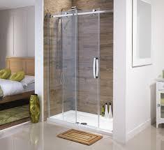 orca frameless sliding shower door for alcoves all sizes high