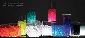 Crystal Vases For Centerpieces Water Pearls Centerpiece Filler Jelly Balls Jelly Decor Deco