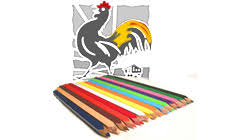 painting templates red rooster