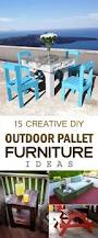 Outdoor Pallet Furniture Creative Diy Outdoor Pallet Furniture Ideas