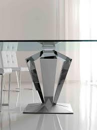glass table base only glass table base only en top wooden modern ls diy dining
