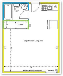 window treatment for new bachelor suite floor plan drape panel