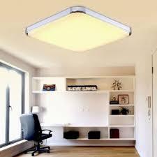 Wohnzimmer Deckenleuchten Design Sailun 36w Warmweiß Led Deckenleuchte Schlafzimmer Moderne