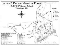 Property Line Map The Mountains And Ponds Of Ranger Tupper Lake Adirondacks
