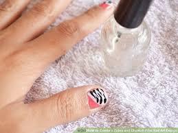 zebra pattern nail art how to create a zebra and cheetah print nail art design 9 steps
