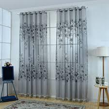 Decor Beaded Window Curtains Beaded by Elegant Shower Curtain Sears Com Lush Decor Flower Drops Federal