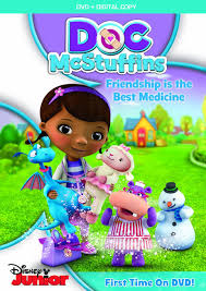 amazon doc mcstuffins friendship medicine dvd