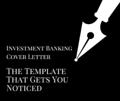 investment banking cover letter template what you u0027re doing wrong