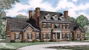 colonial luxury house plans traditional georgian style house plans