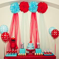 elmo birthday party kara s party ideas and turquoise elmo party sesame