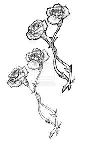 best 25 carnation flower tattoo ideas on pinterest carnation