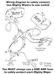 the mighty wiper u2013 wiring diagram raingear wiper systems