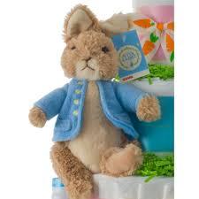 peter rabbit diaper cake baby shower diaper cakes unique