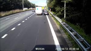 car vs truck crash e40 aalter belgium youtube