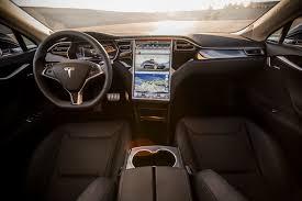 Tesla Carbon Fiber Interior 2015 Tesla Model S P85d First Test Motor Trend