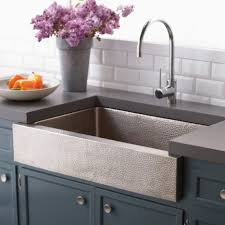 Great Kitchen Sinks Great Kitchen Sink Design Feat Paragon Copper Apron Farmhouse Sink